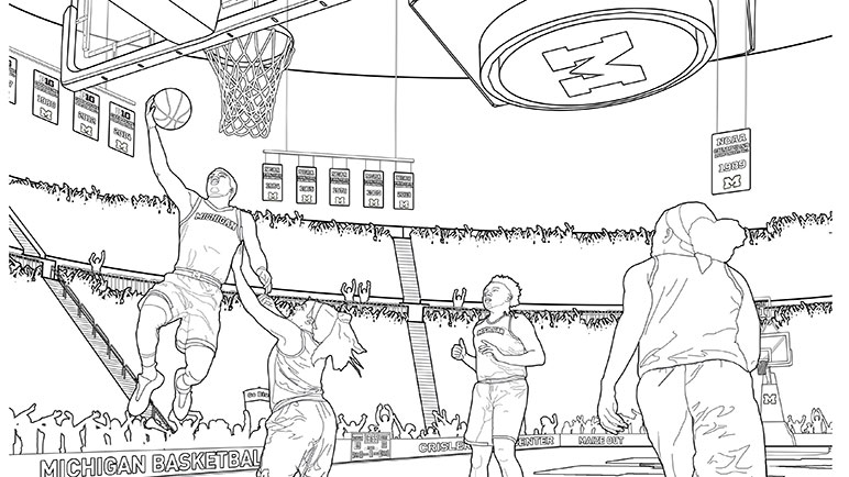 Michigan university coloring pages coloring pages for Michigan state university coloring pages